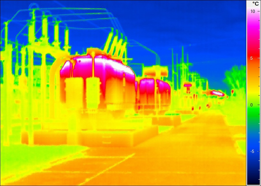 Thermografie-Industrie
