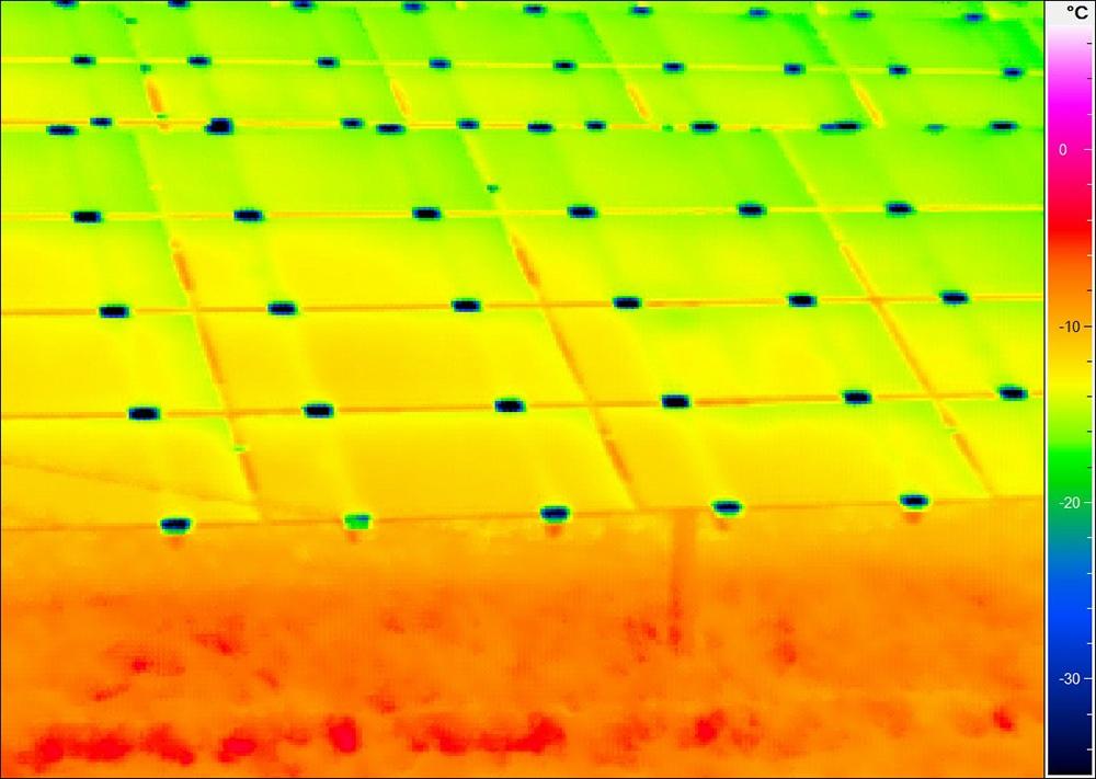 Thermografie-Photovoltaik
