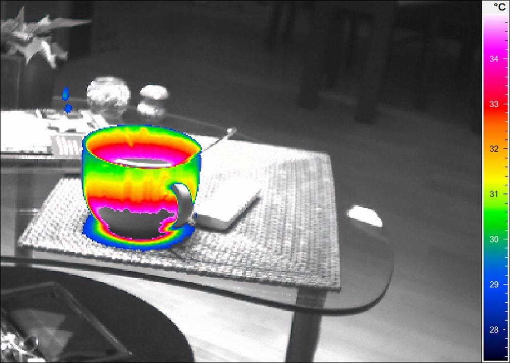 Thermografie-Tasse